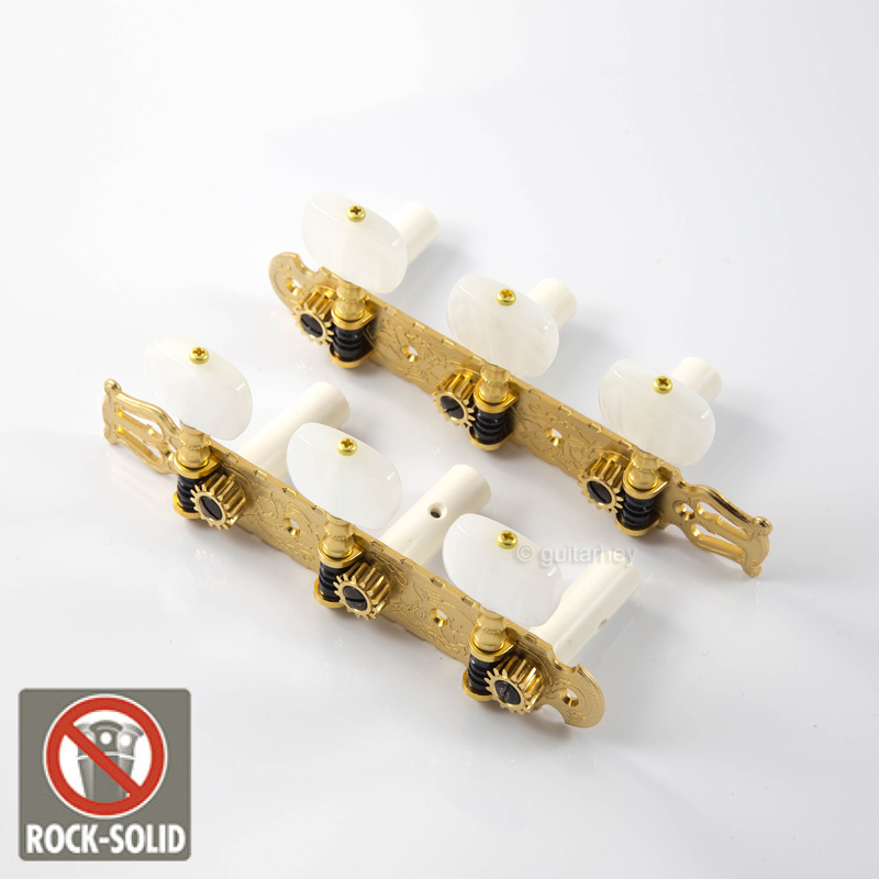 Guitar Parts Gotoh : gotoh 35g3600 classical guitar tuning machine heads set with screws flash gold ebay ~ Russianpoet.info Haus und Dekorationen