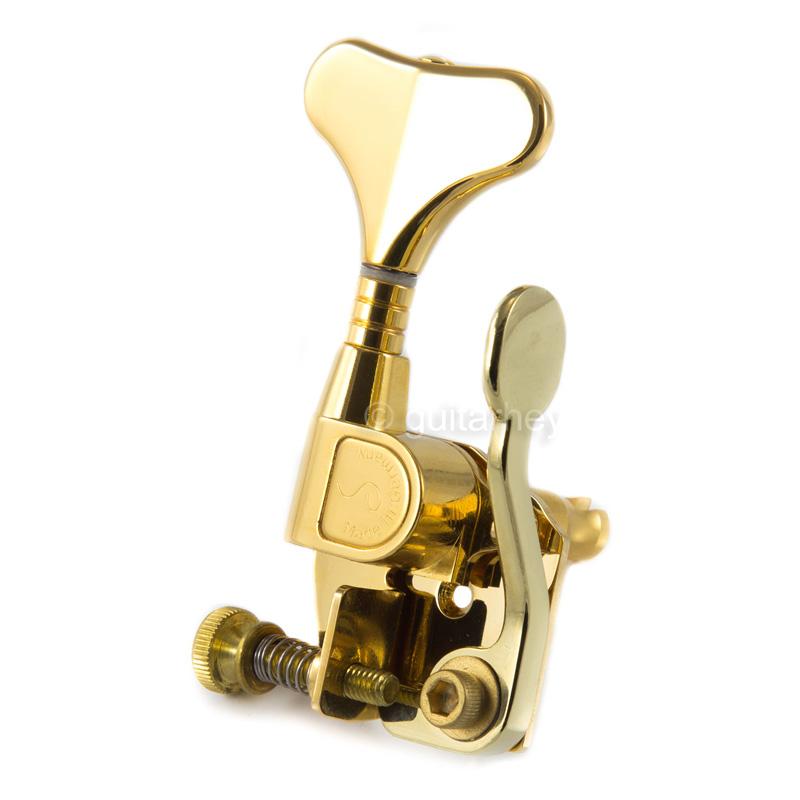 hipshot bass schaller m4 mini xtender detuner instant detuning drop d tuner gold. Black Bedroom Furniture Sets. Home Design Ideas