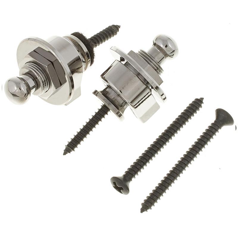 Schaller Strap Lock : new genuine schaller germany strap lock security locks system straplock chrome ebay ~ Vivirlamusica.com Haus und Dekorationen