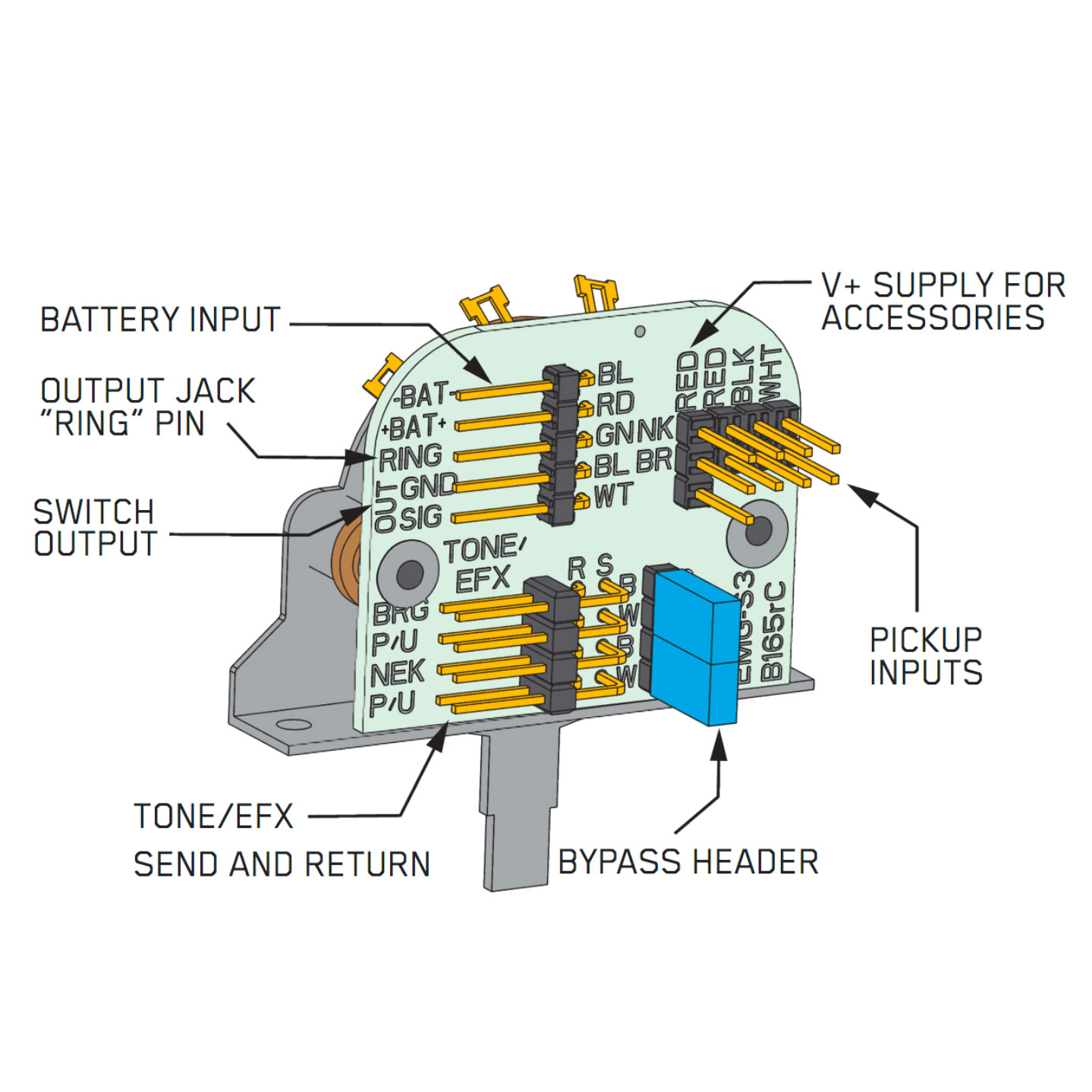 Emg Wiring Diagram 3 Way Toggle Switch Start Building A 81 Solderless Somurich Com Rh Two Electrical Illuminated